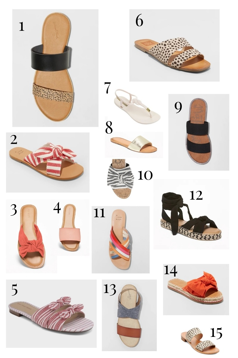 Spring Wishlist: Sandals