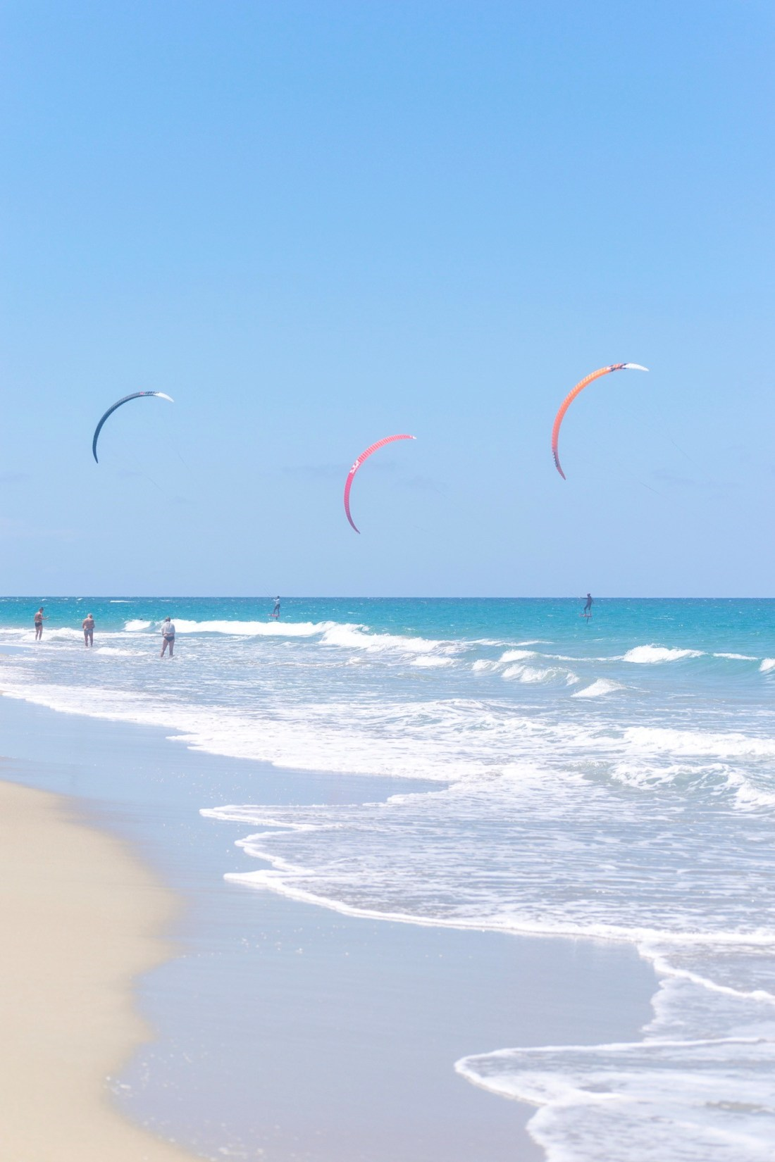 Kite Surfing in Dominican Republic