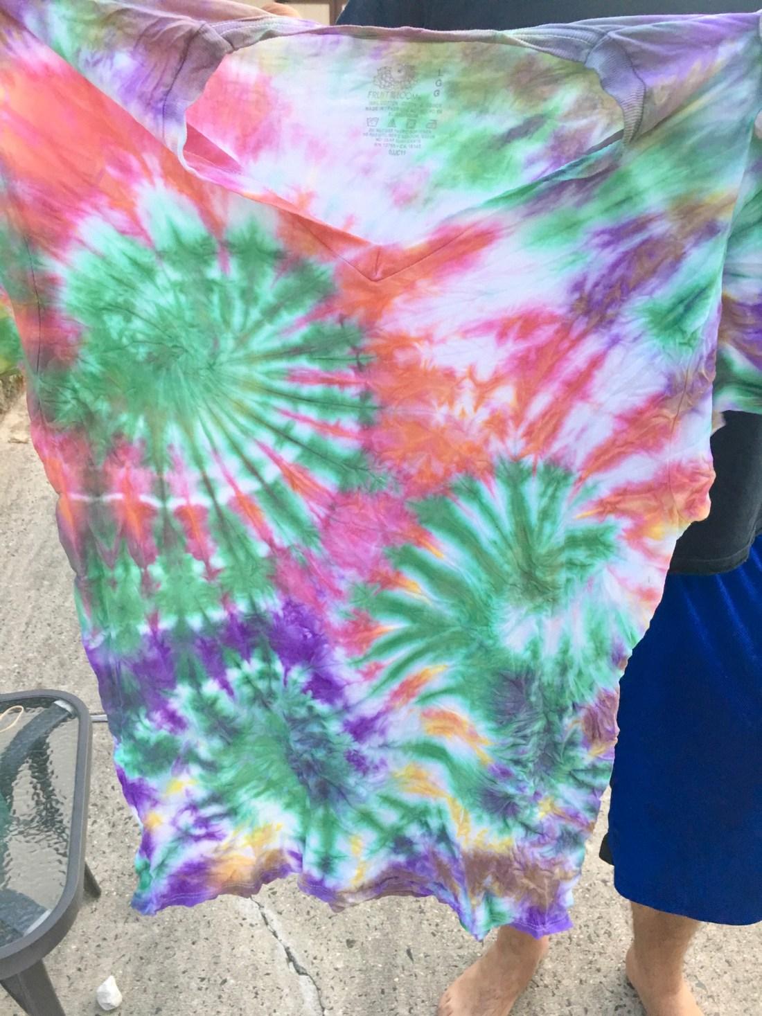 Alex's shirt