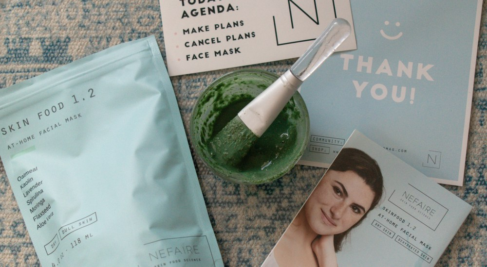 Nefaire At Home Facial Mask