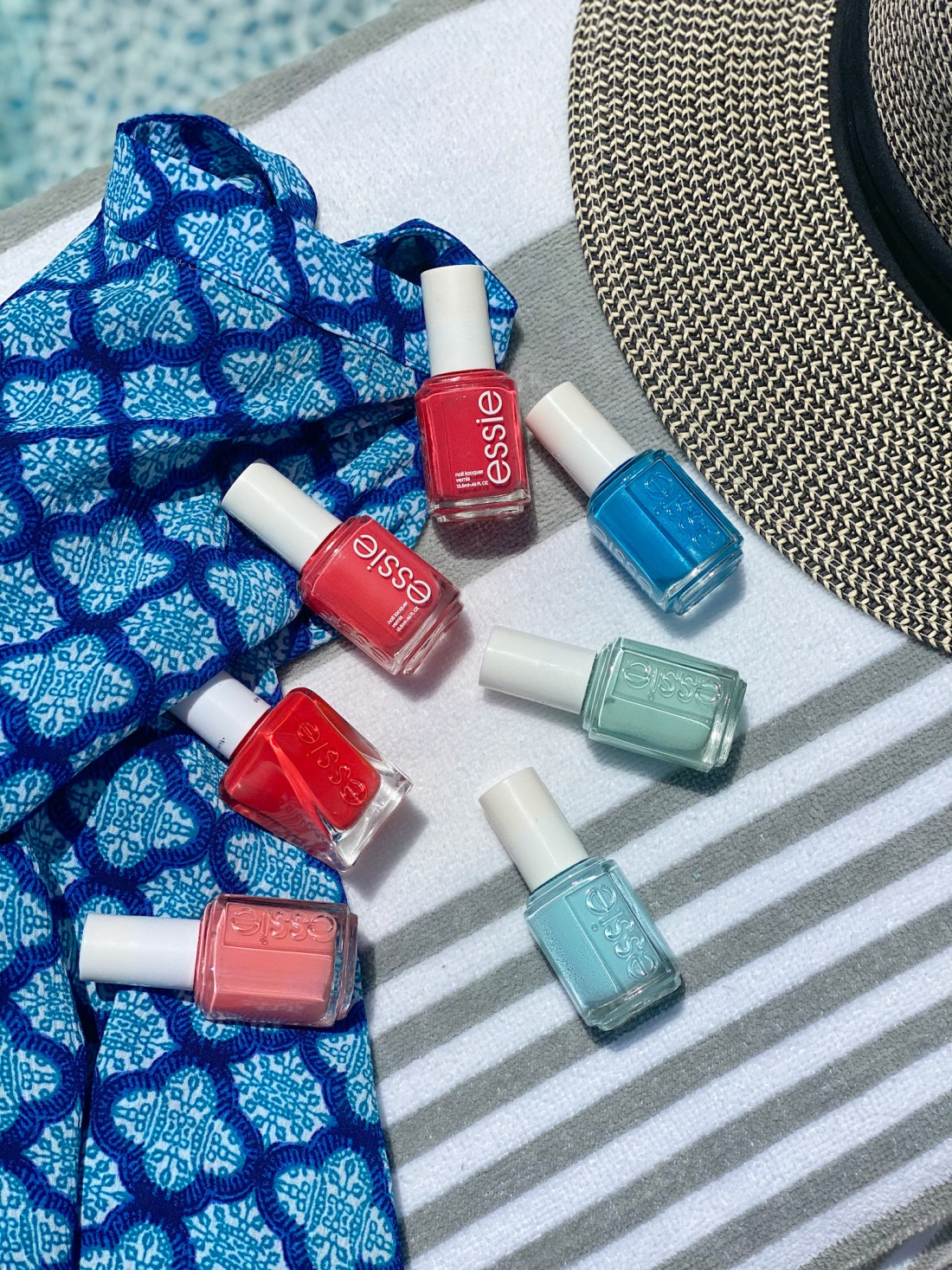 Essie Summer Nail Polishes