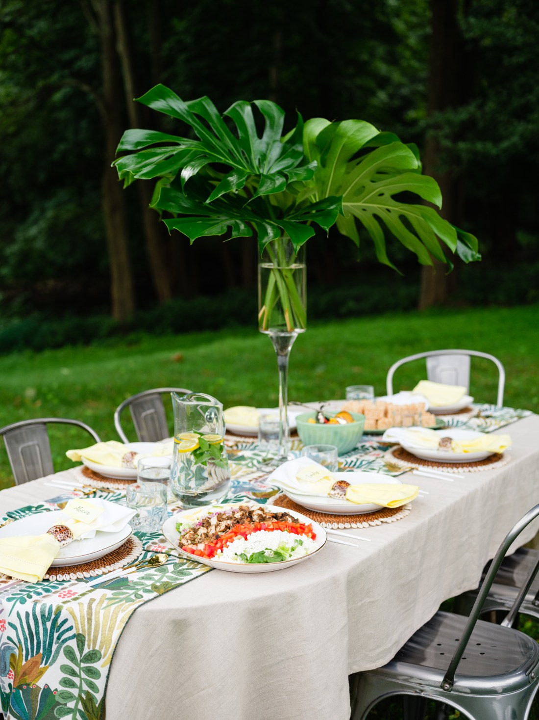 On Island Tablescape