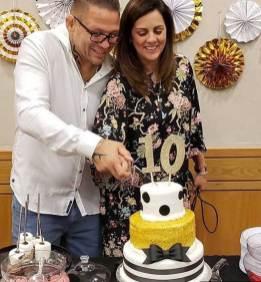 BIG 10th - Cake