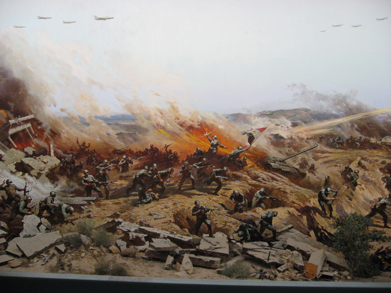 بالصور بانوراما حرب أكتوبر حيث العزة والكرامة