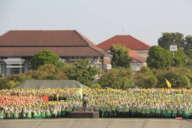 Mahaiswa Baru UGM 2012
