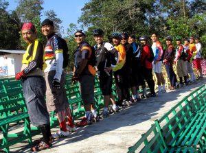 Panggung di Danau Kayangan Rumbai Riau