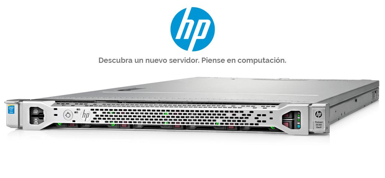 HP - Descubra un nuevo servidor. Piense en computación.