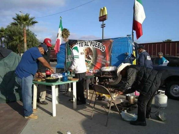 Protestan movimientos de resistencia por contrato de desoladora en Playas de Rosarito (Baja California)