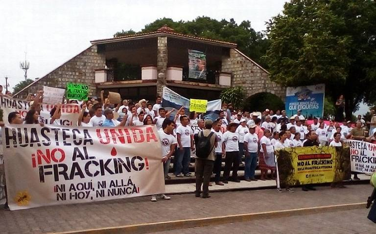 Huasteca contra el fracking, cerrarán paso a Pemex (San Luis Potosí)