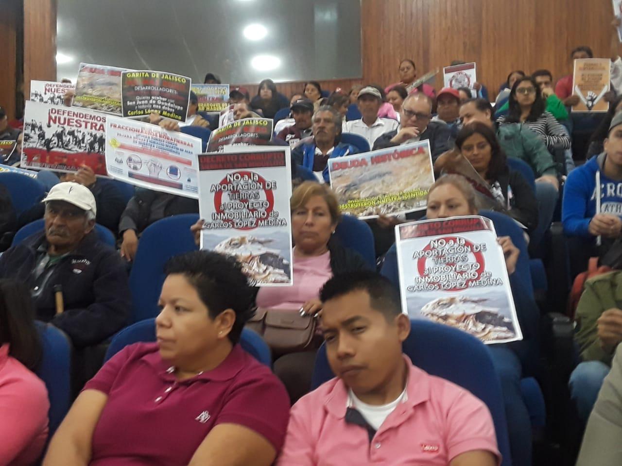 Fraccionadores intentan invadir nuestras tierras, denuncian ejidatarios (San Luis Potosí)