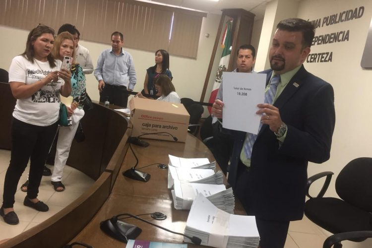 Presentan firmas contra Constellation Brands (Baja California)