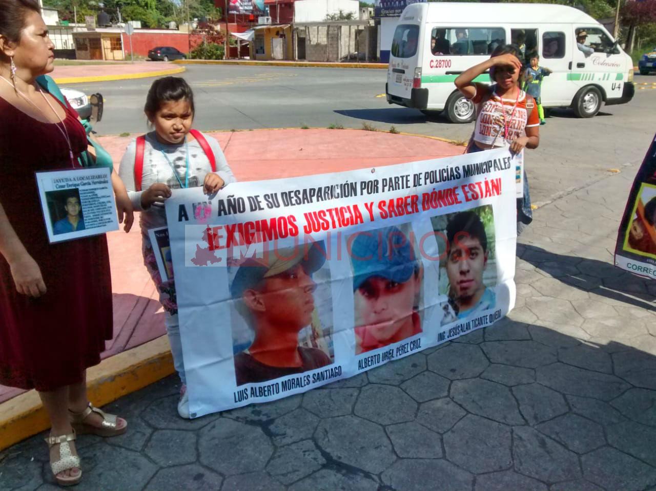 También la Sierra Norte de Puebla busca a sus desaparecidos