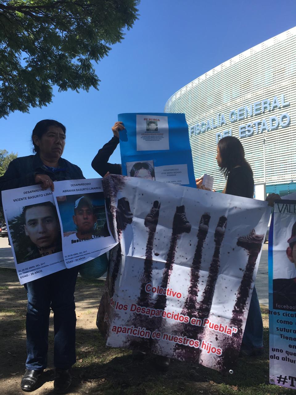 La Voz de los desaparecidos en Puebla