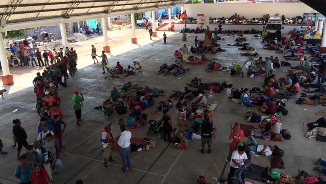 Segunda caravana migrante tomará vía a Veracruz (Oaxaca)