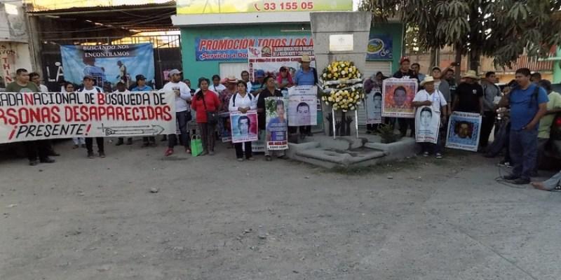 """Declaran padres de los 43 y la Brigada de Búsqueda, """"ir juntos por todos los desaparecidos"""" del país (Guerrero)"""