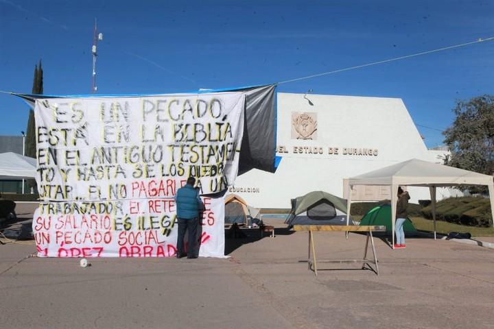Bloquean la SEED por falta de pago (Durango)