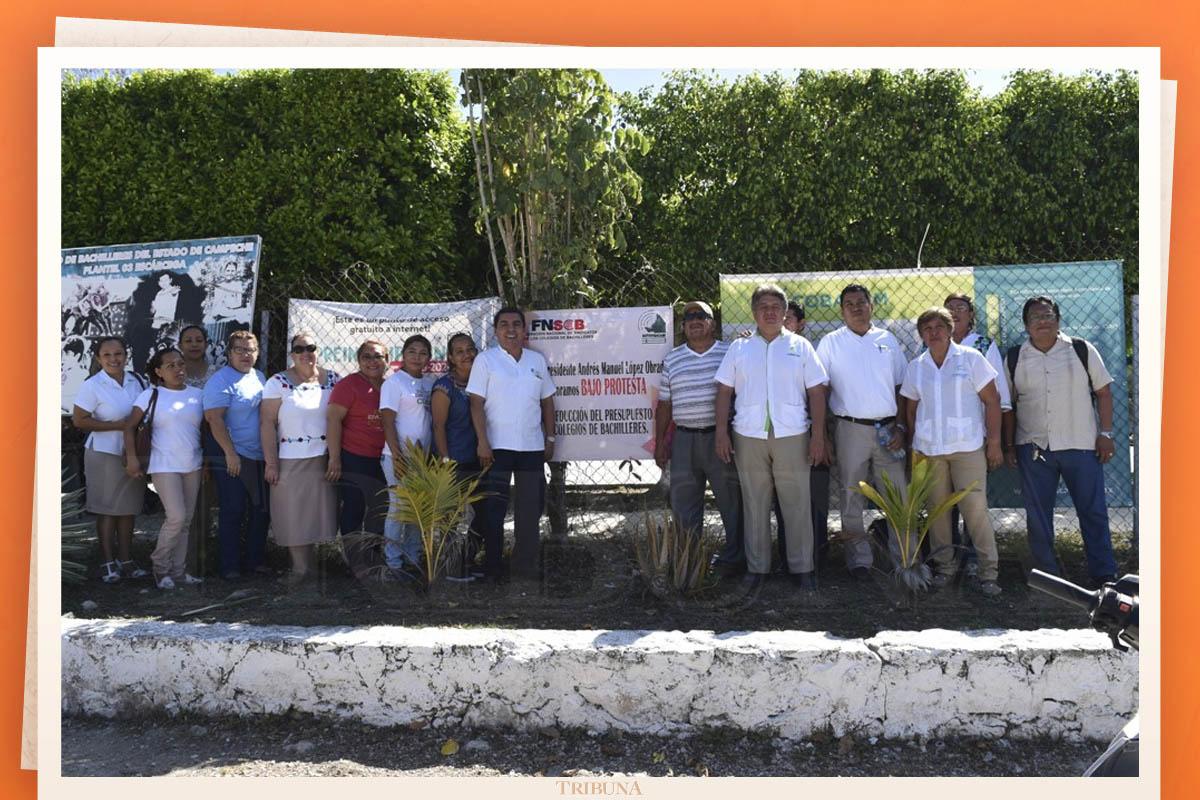 Paran labores en los Colegios de Bachilleres (Campeche)