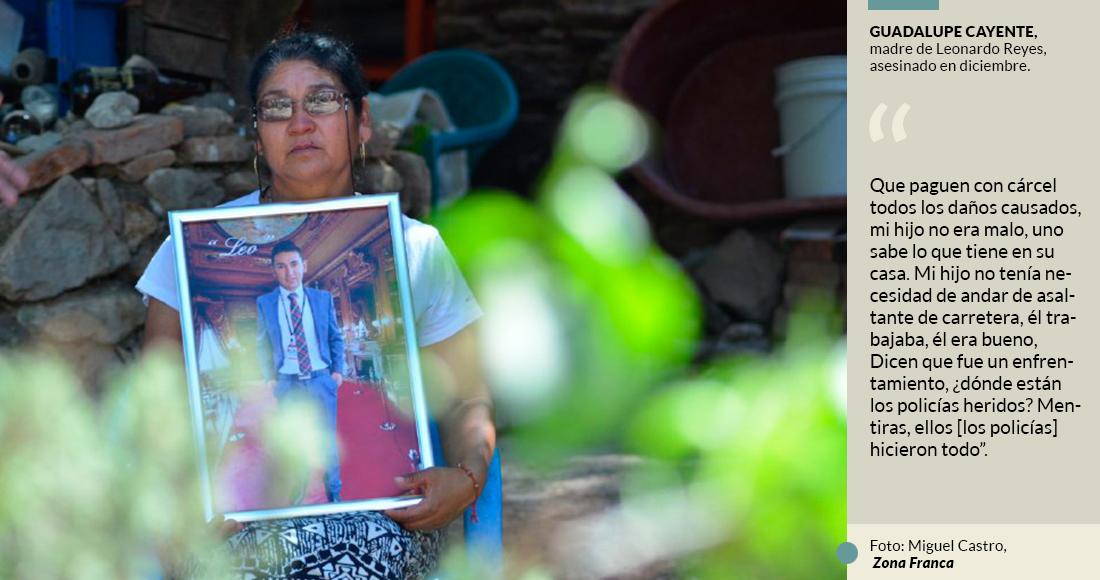 Policías de Guanajuato mataron a su hijo, y luego lo inculparon; madre pide escuchen su tragedia