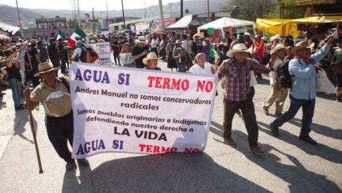A cien años de Zapata, pobladores de Morelos repudian la termoeléctrica de Huexca