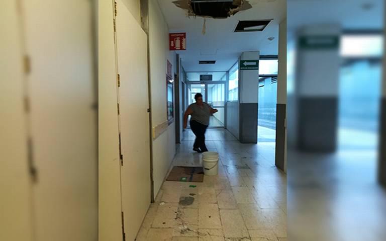 Rayos X del IMSS en malas condiciones (Querétaro)