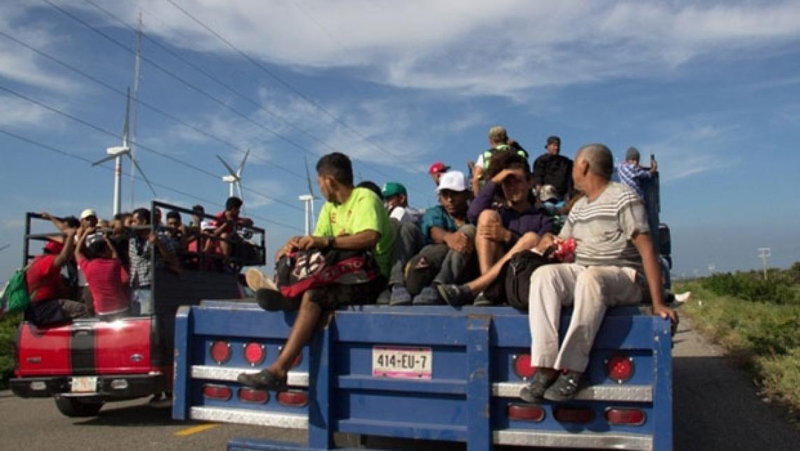Migrantes: de la ayuda a la cacería (Oaxaca)