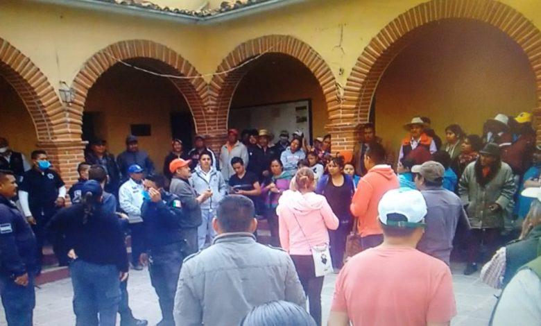 Agresiones al pueblo de Santiago Mexquititlán (Querétaro)