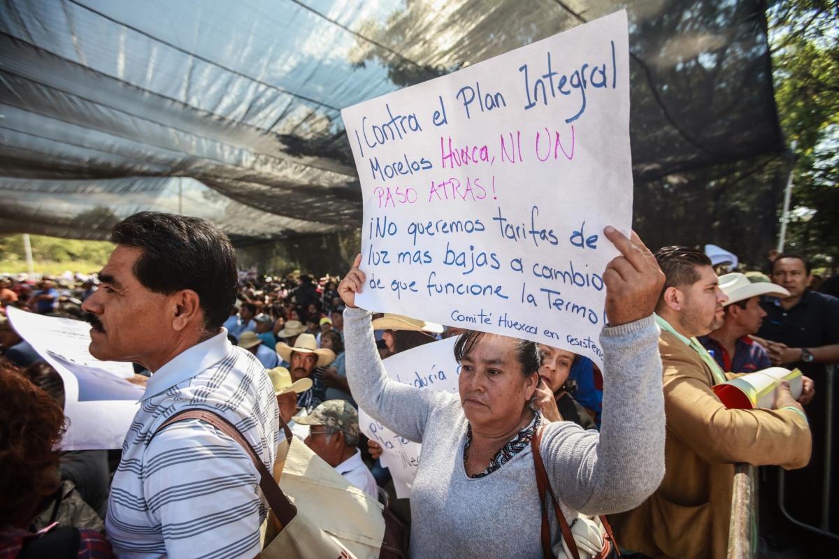 Inviable, activación de termoeléctrica: pueblos afectados (Morelos)