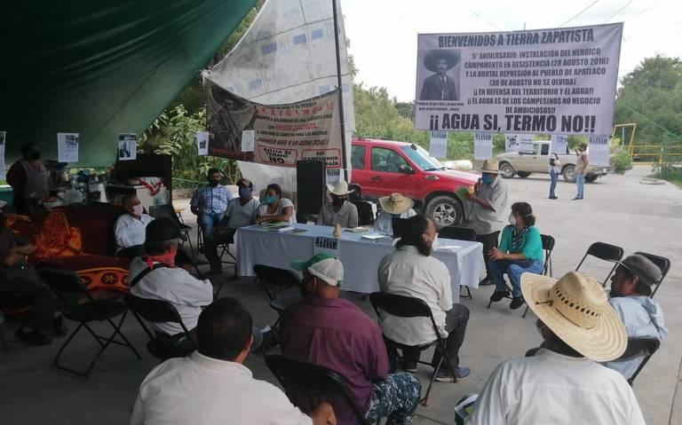 Refrendan rechazo al PIM (Morelos)