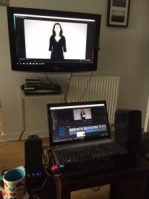 Dual Screen Editing
