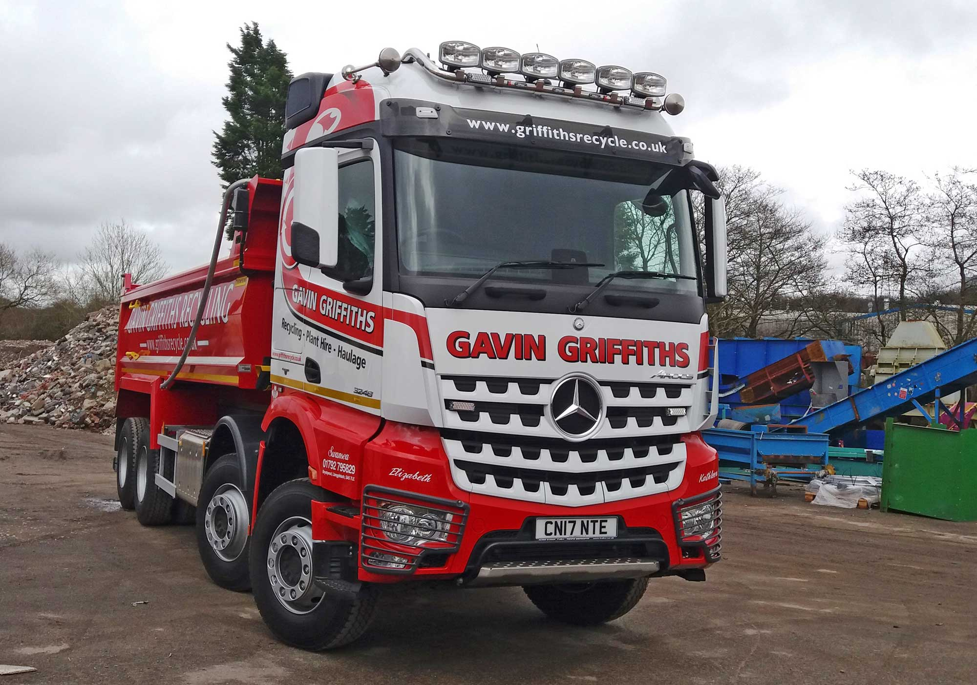 Gavin Griffiths Recycling Plant Hire Haulage