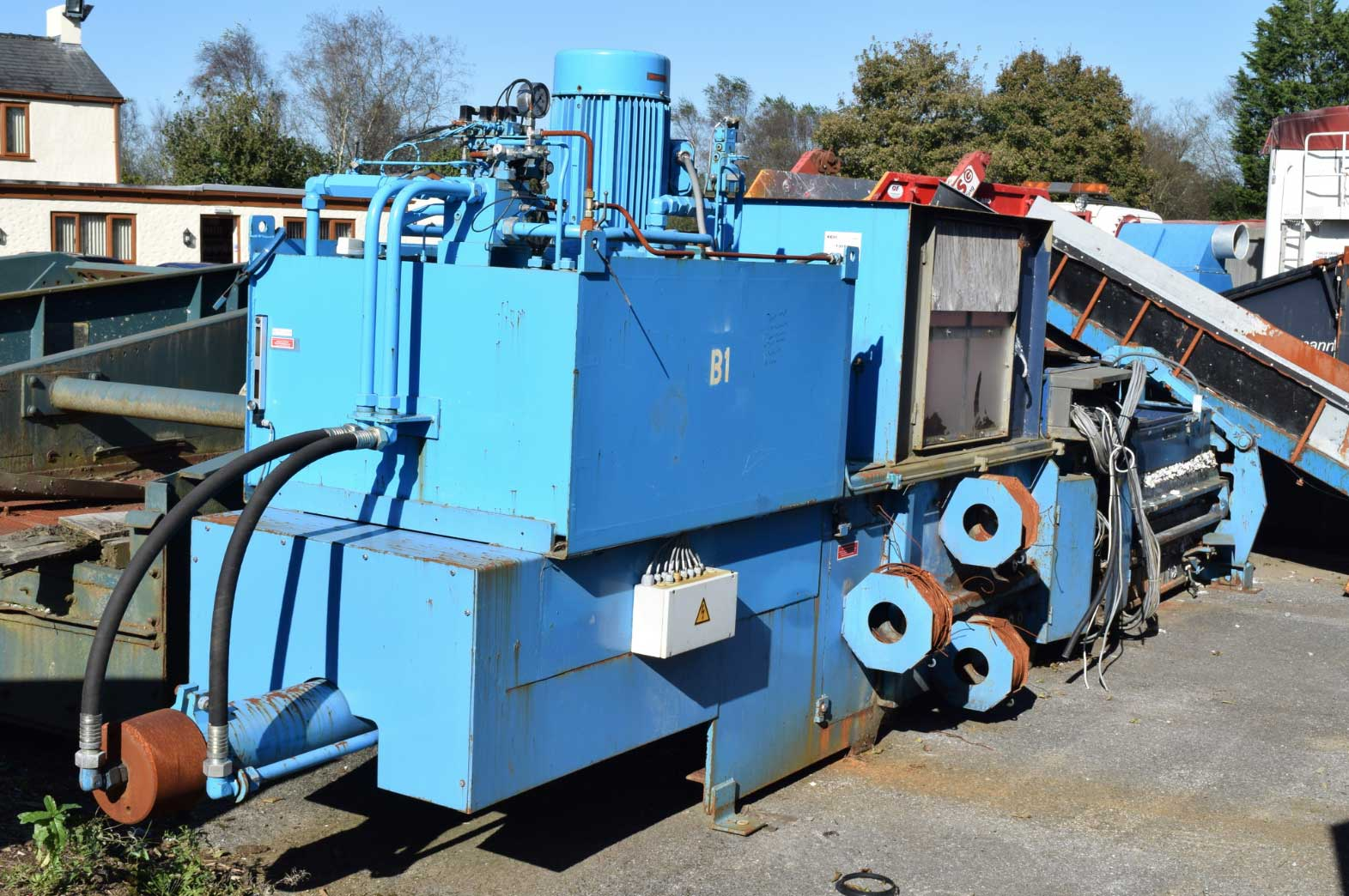 Recycling Machinery Griffiths Group Swansea