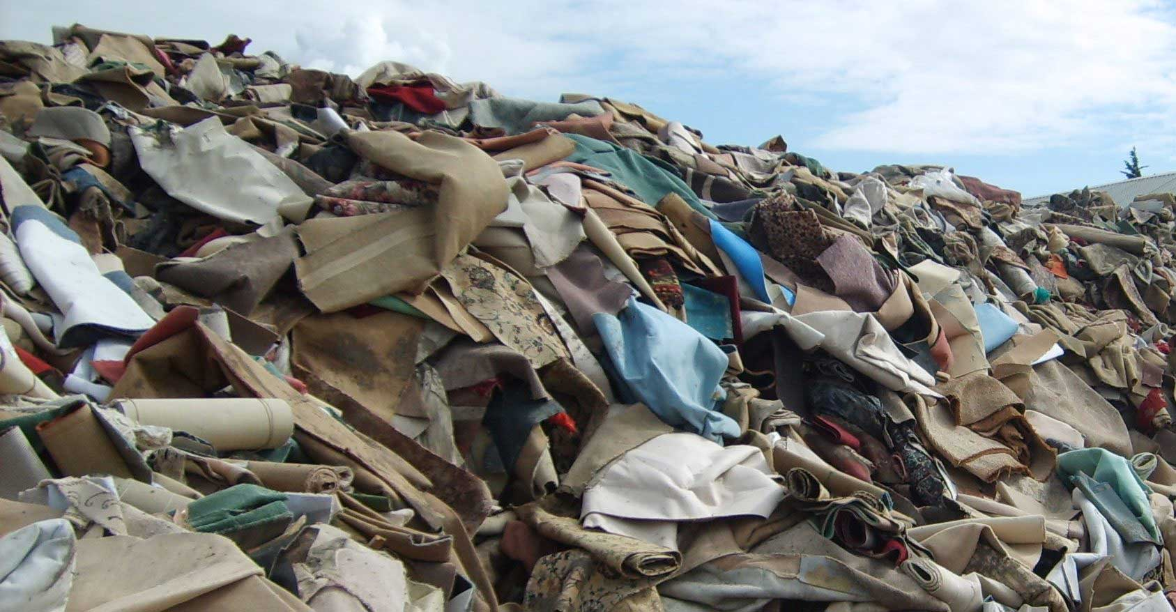 Textile Waste recycling Swansea