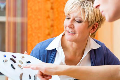Hearing aid home visit Griffiths Hearing Milton Keynes Northampton