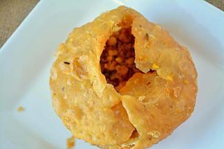 cookery recipe in hindi breakfast recipes dal kachodi with aloo bhaji