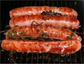 Saucisses grilllees