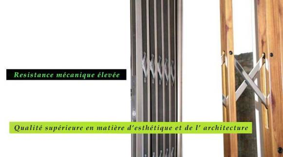 GRILLE EXTENSIBLE OUVERTE