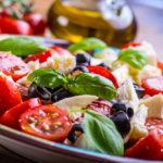 Salat-Beilage zum Grillen