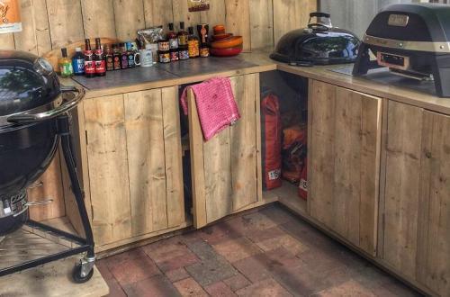 BBQ meubel voor Weber Master Touch 57cm