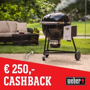 Weber Summit Cashback