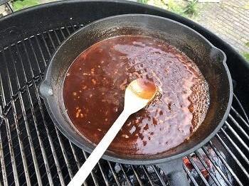 saus pulled chicken
