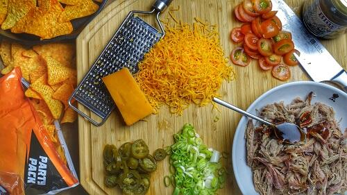 voorbereiding nachos