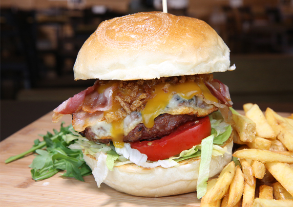 cheese burger grillhouse salerno