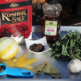 Lemon and Herb Turkey Brine