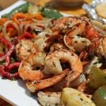 Drunken Shrimp Fajitas