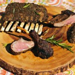 Rosemary and Coriander Crusted Rack of Lamb
