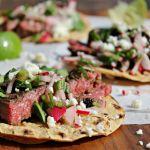 Carne Asada Street Tacos with Radish Salsa