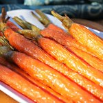Honey Bourbon Carrots