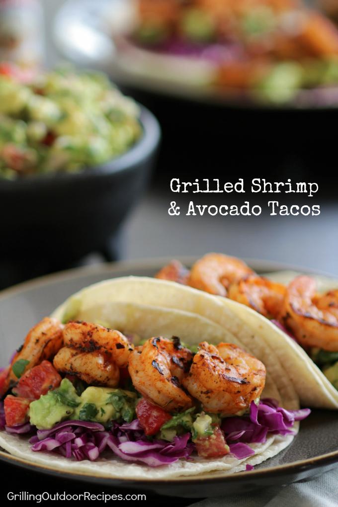 Shrimp and Avocado Tacos v