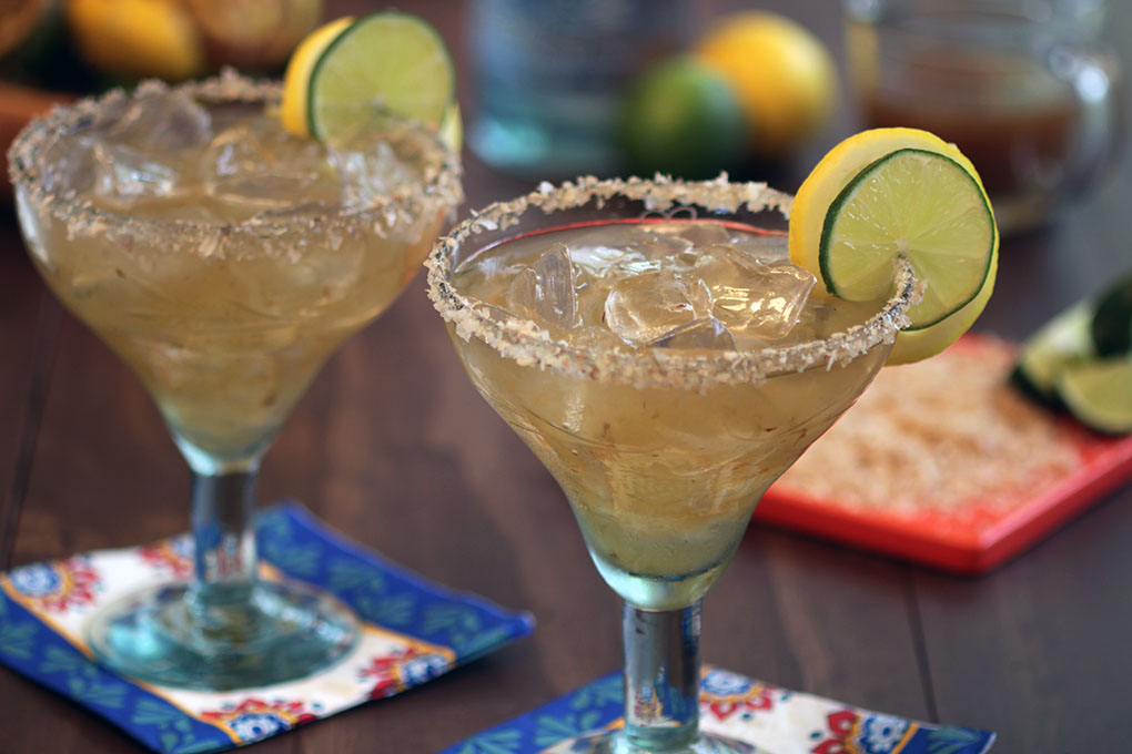 Charred Citrus Margarita h