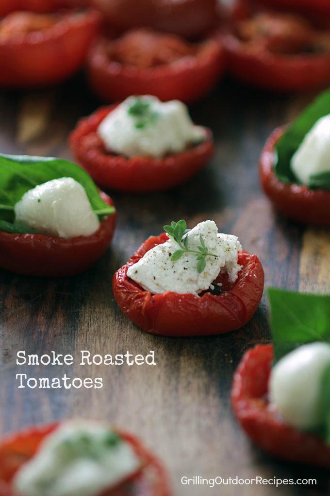 smoked tomatoes -v